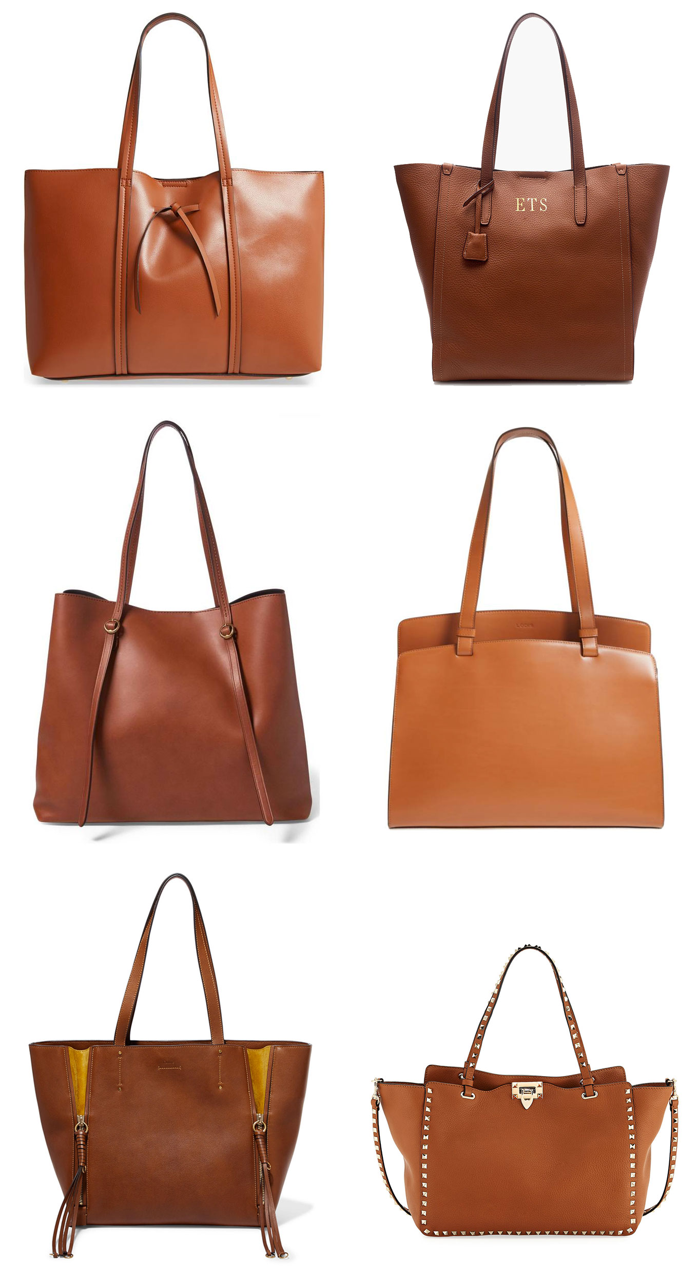 Ridgely Brode is looking for the perfect everyday tote and find 6 brown colored contenders on her blog, Ridgely's Radar.
