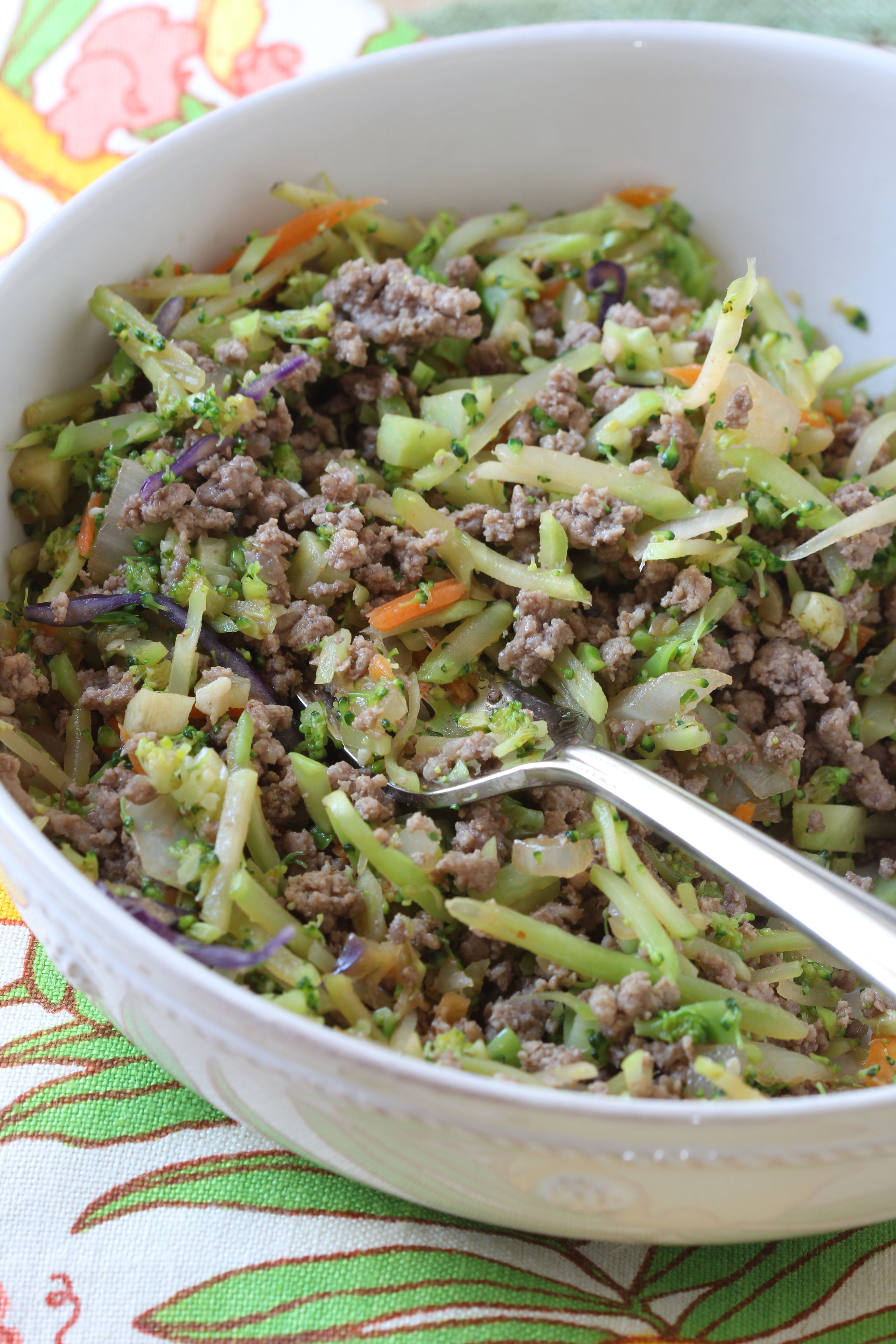 Ridgely Brode cooks up a batch of Crack Slaw , the healthier alternative to take out food, with lots of veggies her blog Ridgely's Radar.