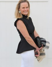 Ridgely Brode re-thinks her feelings on peplum tops and realizes how versatile and flattering they are on her blog Ridgely