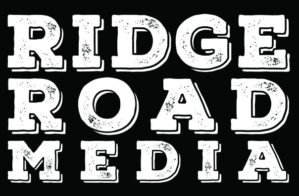 Ridge Road Media black and white logo