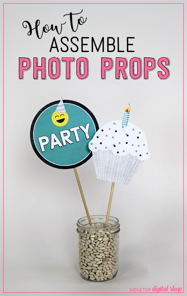 Ridgetop Digital Shop | How to Assemble Photo Booth Props