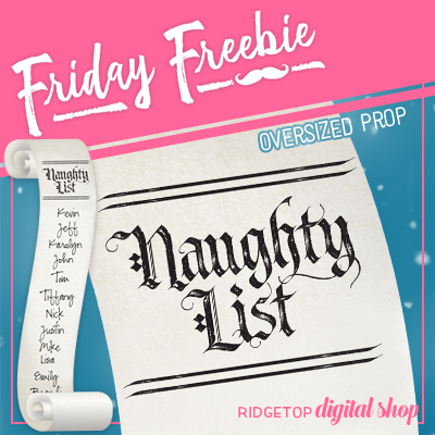 Friday Freebie: 2017 Naughty List