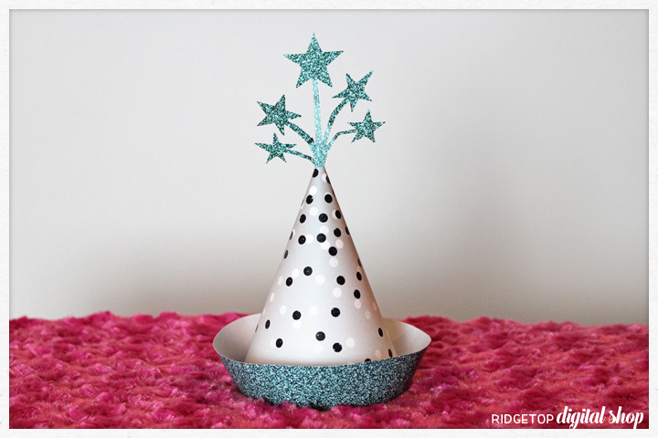 Ridgetop Digital Shop | Friday Freebie | 3D Printable Hat | Turquoise