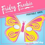 Butterfly Mask Free Printable