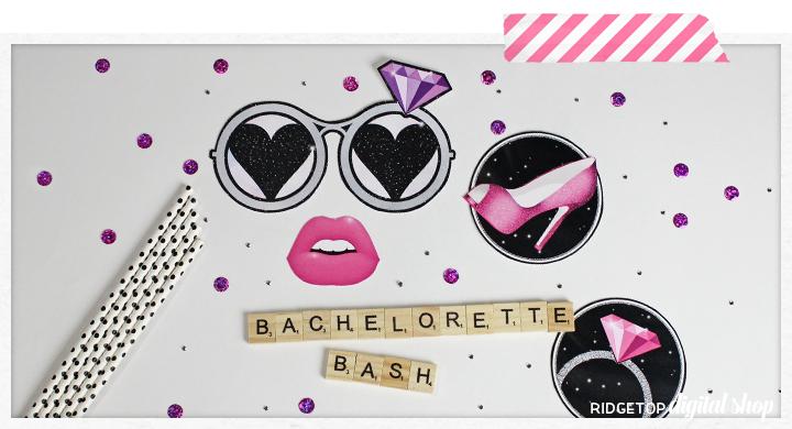 Ridgetop Digital Shop | Bachelorette Party Photo Booth Props | Bridal Shower Photo Booth Props | Hen Party Photo Booth Props
