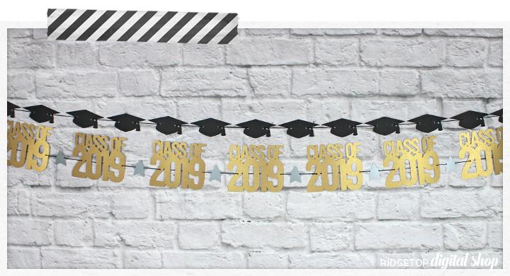 Ridgetop Digital Shop   Class of 2019 Banner SVG   Graduation Photo Booth Backdrop