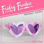 Friday Freebie: Girl's Night Glasses