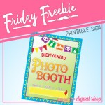 Friday Freebie: Dia de los Muertos Photo Booth Sign