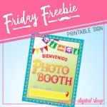 Friday Freebie: Dia de los Muertos Photo Booth Sign