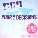 Pour Decisions SVG Banner