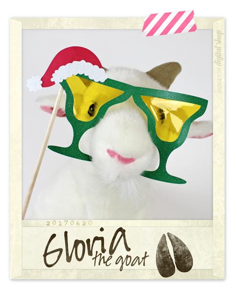 Ridgetop Digital Shop   Snapshot SVG   Christmas Margarita Glasses