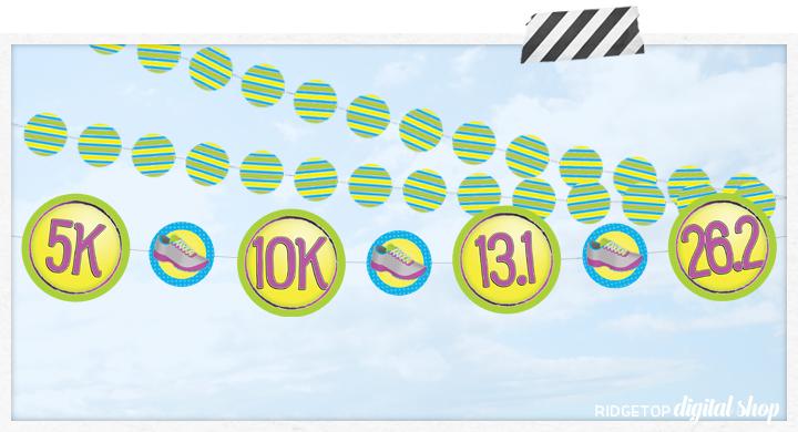 Ridgetop Digital Shop | 5k 10k Half Marathon | Run Walk Event | Printables
