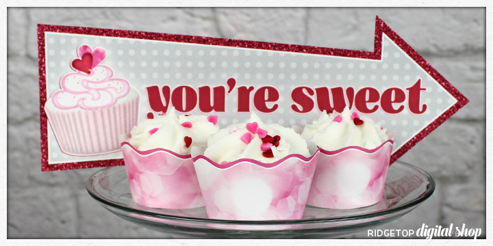 Pink Cupcake Wrapper Free Printable   Pink Party Planning   Ridgetop Digital Shop