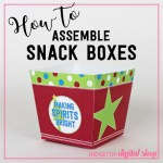 How To Assemble Snack Boxes