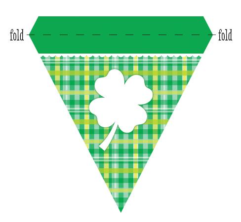 St. Patrick's Day Printable Banner | St Patricks Day Party | Ridgetop Digital Shop
