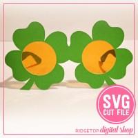 4 leaf clover glasses svg | 4-h svg | Ridgetop Digital Shop