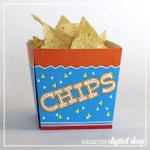 Chips Snack Box Free Printable