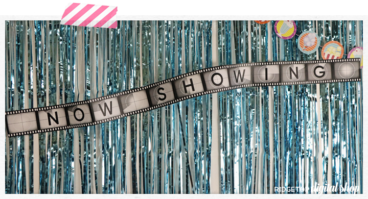 Now Showing Film Banner Free Printable | Ridgetop Digital Shop