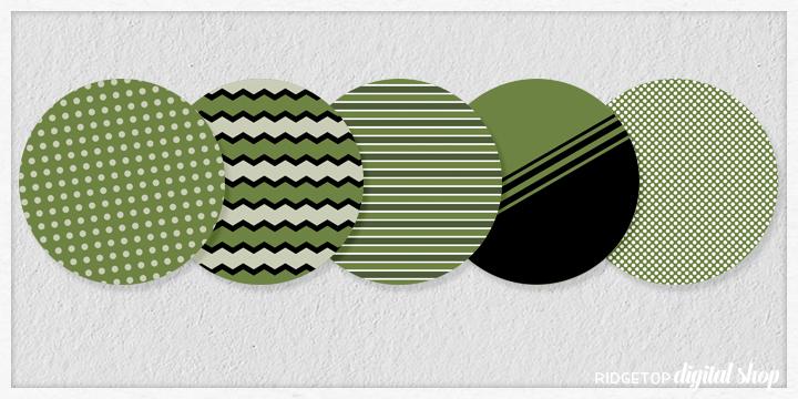 Olive Party Circles Free Printable   Olive Birthday Party Idea   Ridgetop Digital Shop