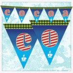 Hot Cocoa Pennant Banner Free Printable