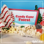 Elf Candy Cane Forest Printable Signs