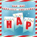 Happiest Christmas Banner Free Printable