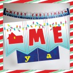Home Alone Christmas Banner Free Printable