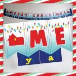 Home Alone Christmas Banner Free Printable