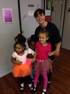 Ridgewood Dance Studio Dancers and their Instructor, Ms. Florence Webber