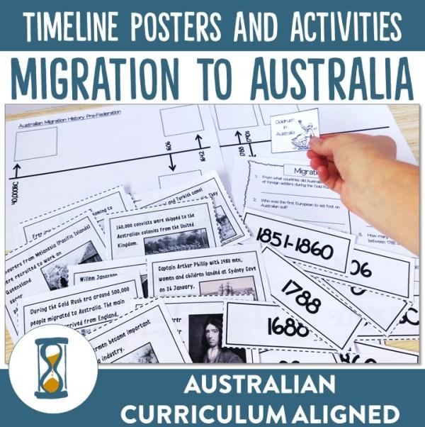 Australian Migration Posters and Activities   Ridgy Didge Resources   Australia