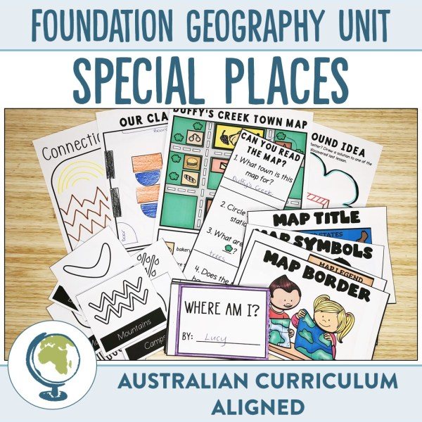 Foundation Geography Unit | Ridgy Didge Resources | Australia