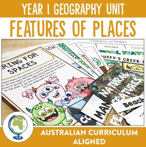 YEAR 1 GEOGRAPHY UNIT | RIDGY DIDGE RESOURCES | AUSTRALIA