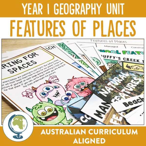 YEAR 1 GEOGRAPHY UNIT | RIDGY DIDGE RESOURCES | AUSTRALIA
