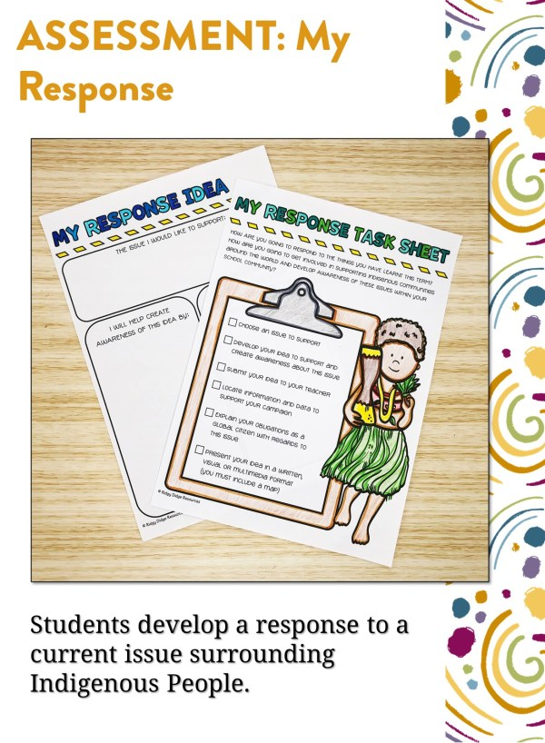 Year 6 HASS Assessment Task | Ridgy Didge Resources | Australia