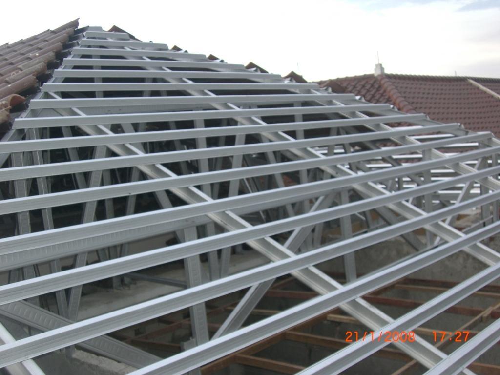 rangka atap baja ringan merk taso harga pasang bekasi 081397465507 | ...