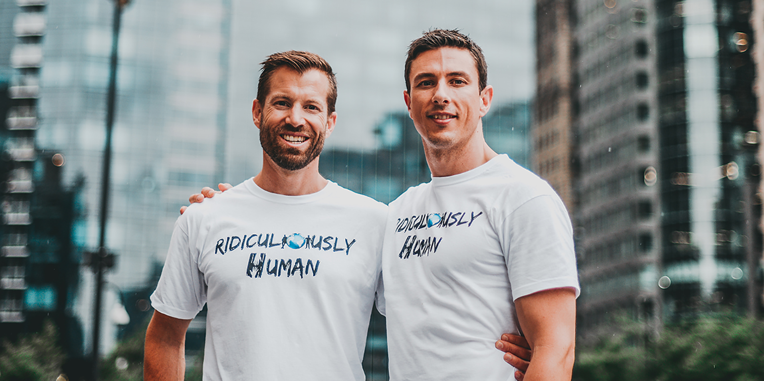 Gareth Martin and Craig Haywood - Host of The Ridiculously Human Podcast