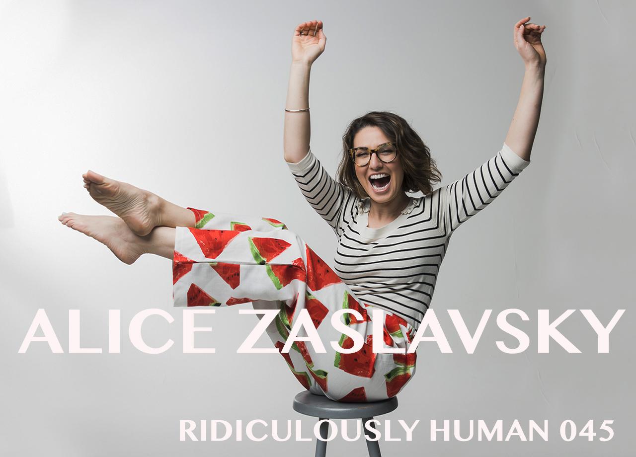Alice Zaslavsky - Australian MasterChef and Founder of Alice in Frames