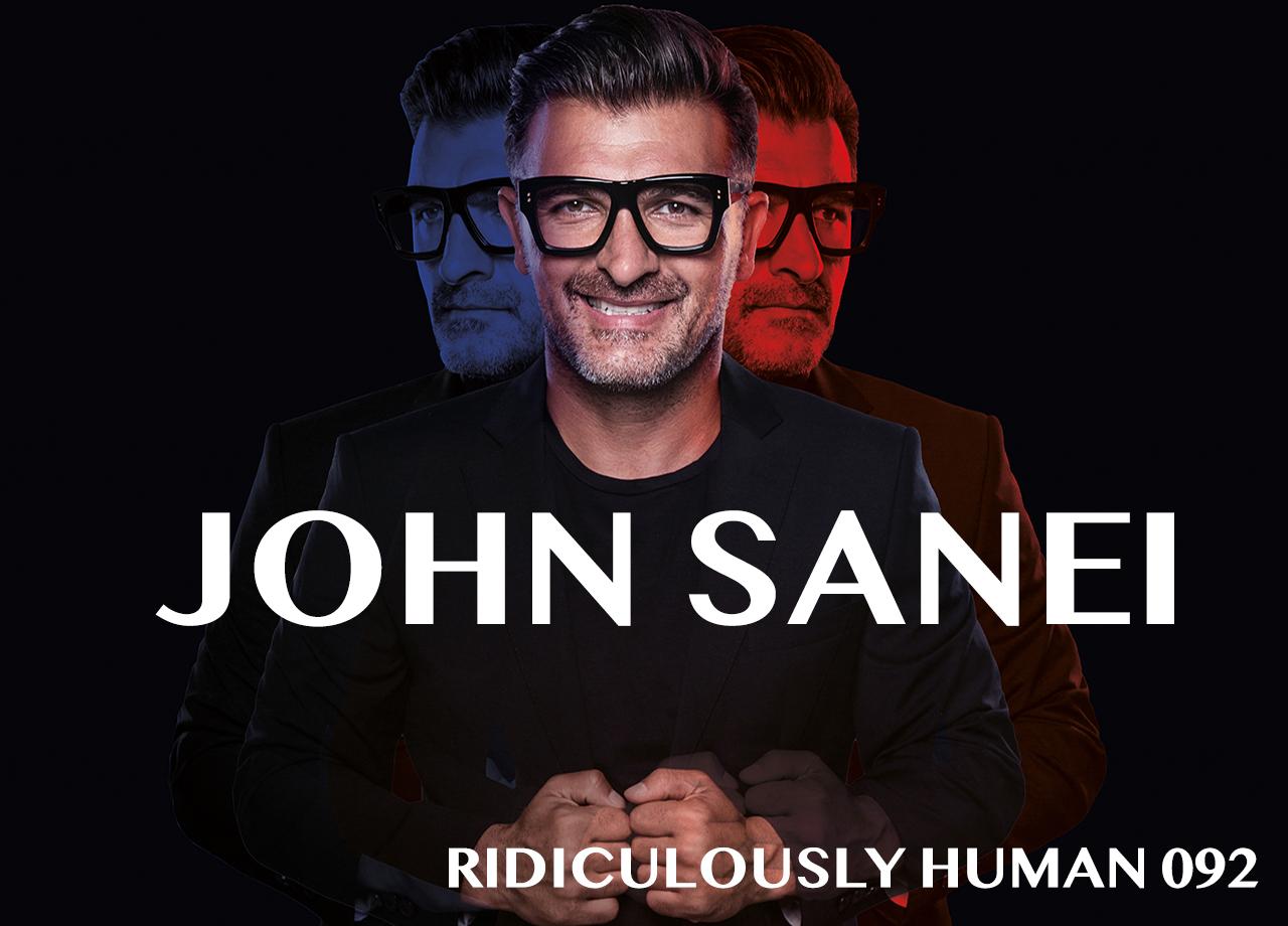 John Sanei - Speaker. Trend Specialist. Business Strategist. Futurist. Educator. Elegant New Age Human. Curiosity Creator. Abundance Seeker. Storyteller. Author of FOREsight.