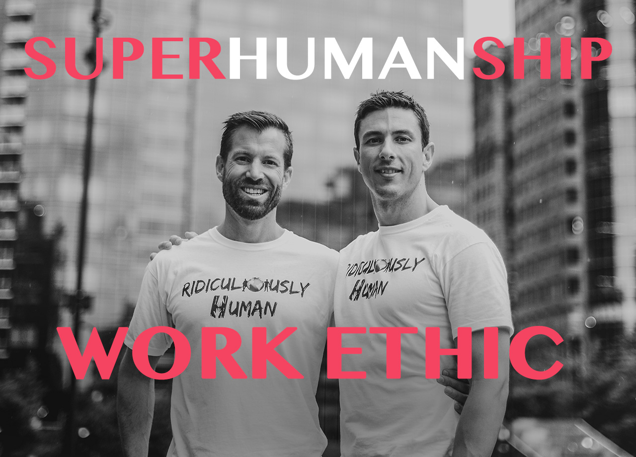 Superhumanship#10 - Work Ethic and Eating Healthy - For New Age Micro-Leaders and Micro-Influencers