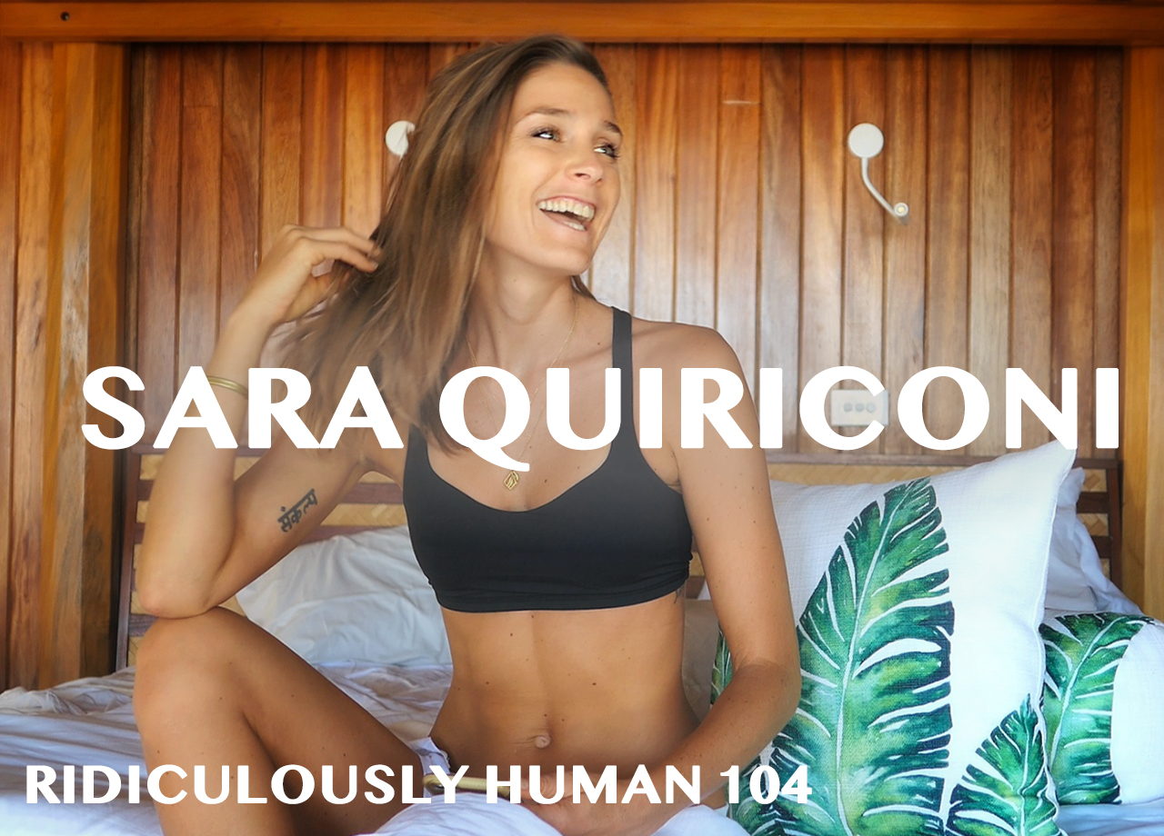 Sara Quiriconi - Storyteller, Content Creator, Wellness Travel Expert, and Founder of Live Free Warrior