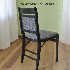 Nice Folding Chairs Damask Chair Covers Vintage Wood The Ridiculous Redhead