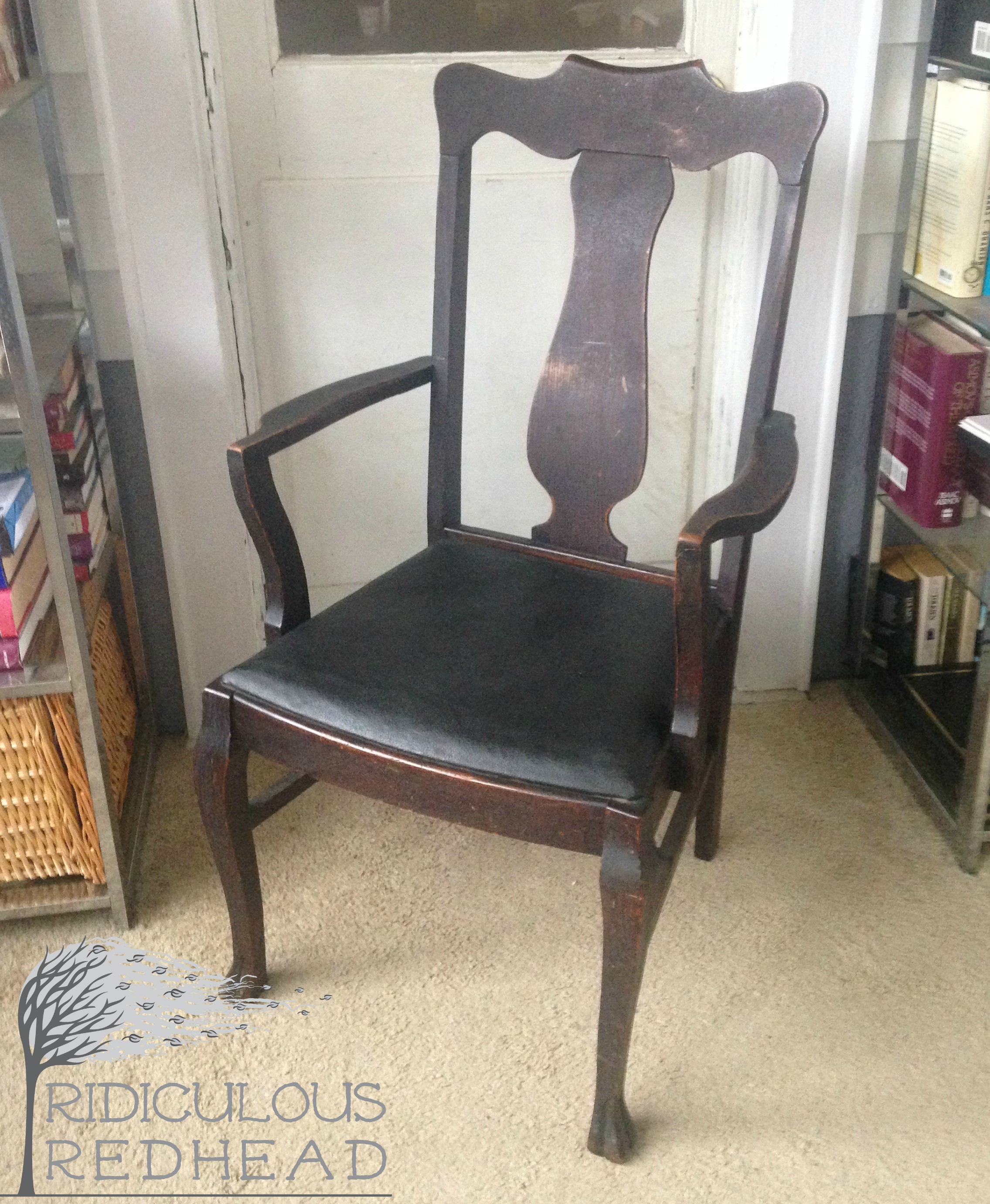 The Claw Foot Chair Makeover