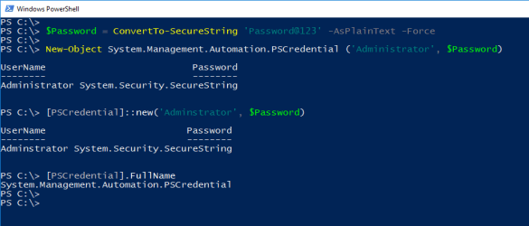 PowerShell Type Accelerators