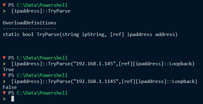 4 Ways to Validate IP Address in PowerShell | RidiCurious com