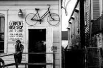 Cool little bike shop on the outskirts of town. Will needed a new brake lever. New Orleans, LA, USA