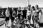 Reece and I met an awesome group of NYPD (police) and NYFD (firemen) lads cycling down to the Florida Keys. They fuelled us up with PB&J (peanut butter and jelly) sandwiches and we raced away down to Tampa. Tampa, FL, USA