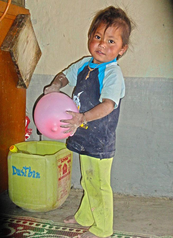 Child-balloon