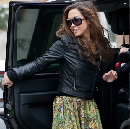 Myleene Klass on Ridin'Girls Blog