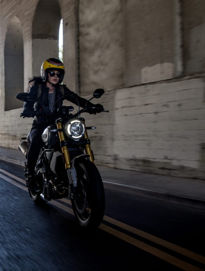 Ducati Scrambler on RidinGirlsBlog