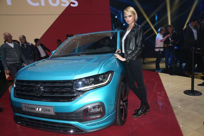 Volkswagen T-Cross & Cara Delevigne on RidinGirlsBlog
